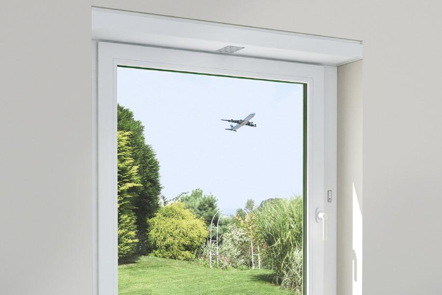Kunststoff-Fenster von Schüco mit Schallschutz