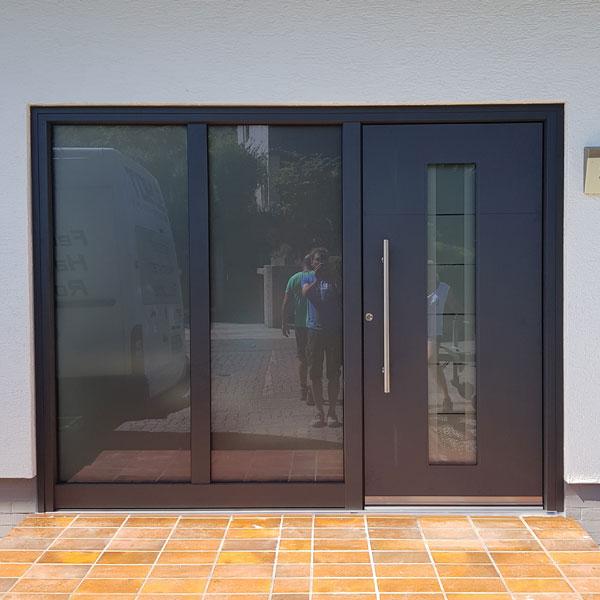 hochwertige Haustür aus Aluminium Region Lorsch